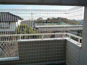 ペット ネコ 落下防止フェンス