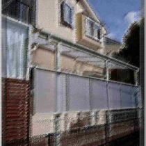 スピーネ 、ネテラス屋根、 バルコニー