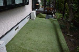 砂利敷き舗装・人工芝・天然芝貼り