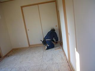 床貼り造作仕上工