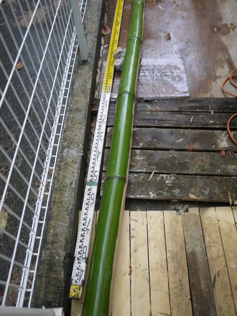 竹灯り 角松仕様デザインガーデニングリフォーム