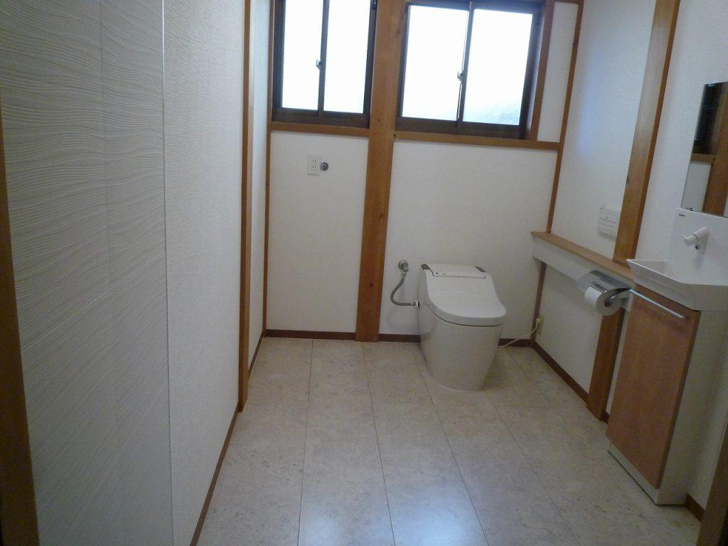 和風トイレにリフォーム(リノベーション)