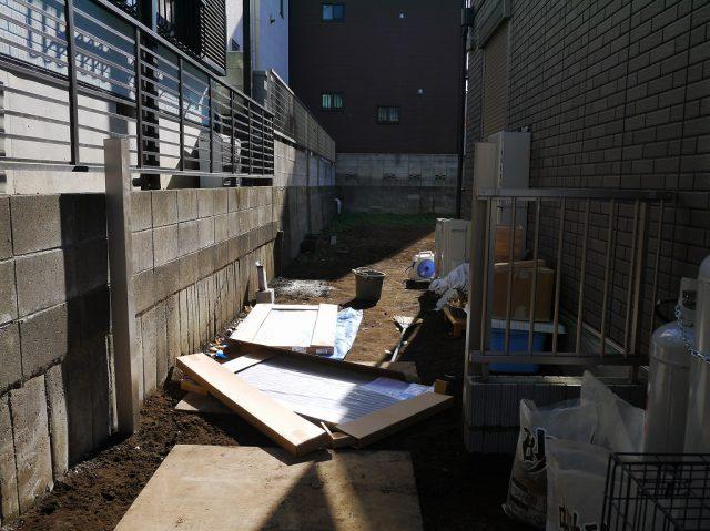 LIXIL樹ら楽ステージデッキ・門扉・フェンス取付状況