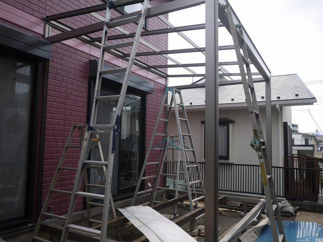 暖欄物語の次はガーデンルームジーマ施工例