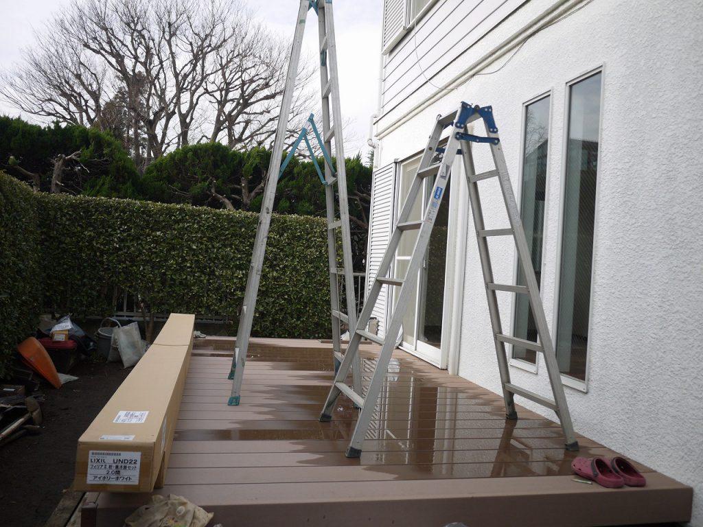 ガーデンテラス(フィリアテラス)樹ら楽デッキ スタイルシェード 東京
